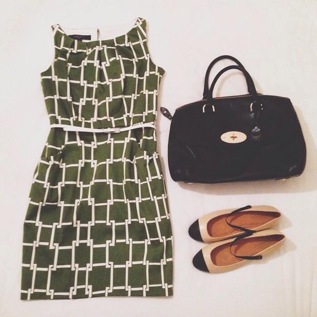 work-wear-nine-west-dress-office-wear-topshop-two-tone-mary-janes