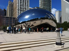 Cloud Gate by Anish Kapoo  - Millennium Park