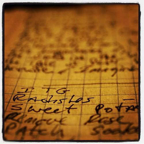 Lines in A Gardener's Notebook 2