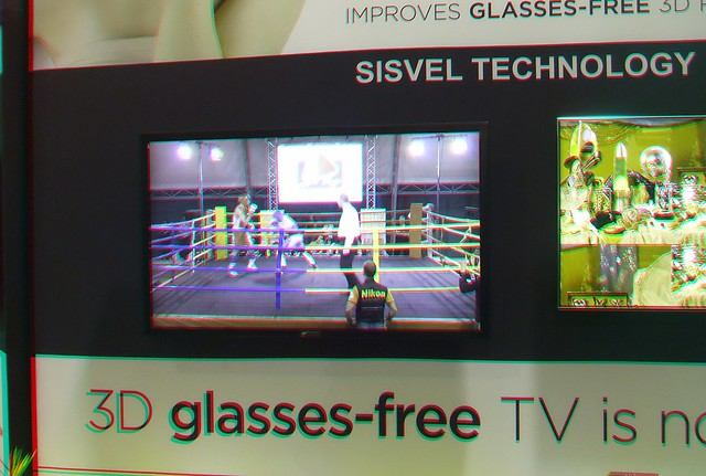 Glasses Free 3D TV - in 3D!