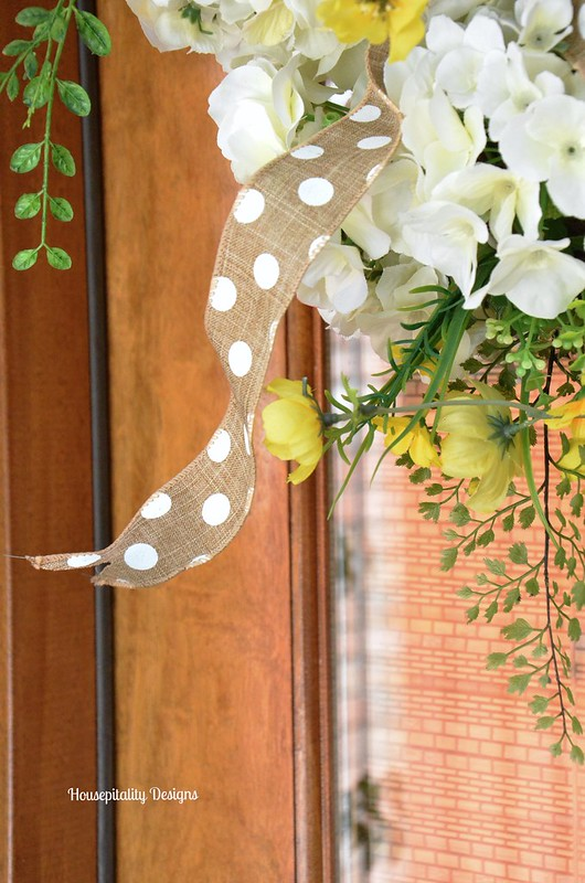 Spring Wreath-Housepitality Designs