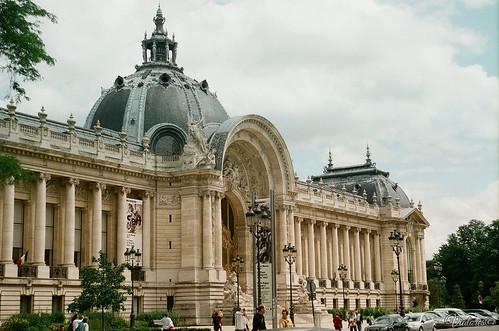 Гран-пале «Большой дворец». Grand Palais. Paris. France