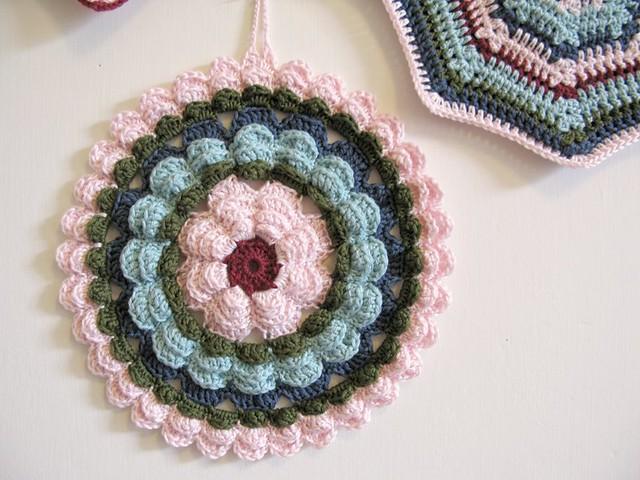 Vera crochet potholder by Emma Lamb