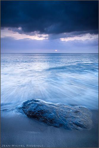 sunset seascape beach martinique caribbean