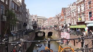 Downtown Utrecht, The Netherlands