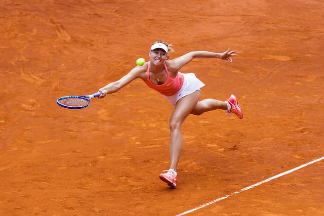 Sharapova en Madrid