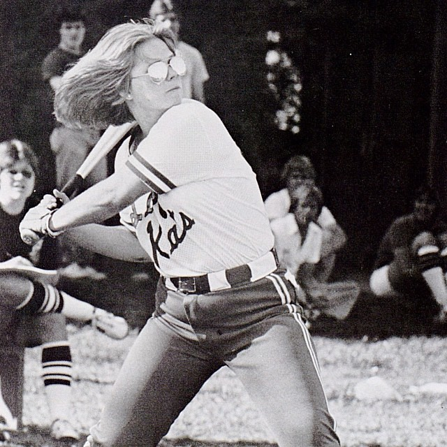 With @uksoftball headed to their 3rd straight Super Regional this weekend, we #tbt to this 1980 pic of UK playing on Haggin Field. We're looking forward to cheering on our Cats in Gainesville. Go Big Blue! #WeAreUK #BBN #OnOnUofK  Photo courtesy of Kentuc