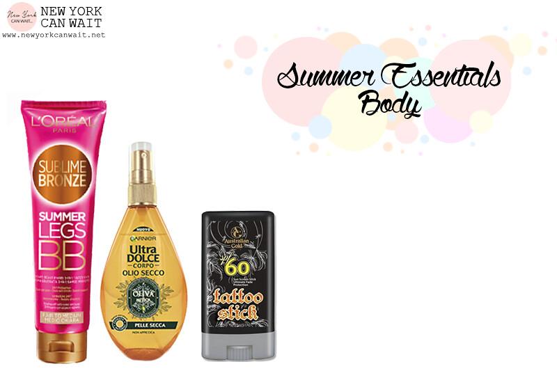 Summer Essentials Makeup & Body. Benvenuta Estate!