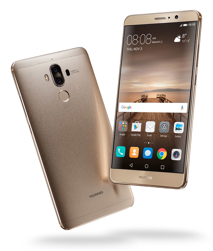 Huawei Mate 9 - Champagne Gold