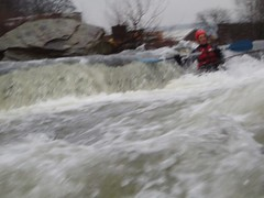 Kayaking: River Taff (22-Jan-05) Image