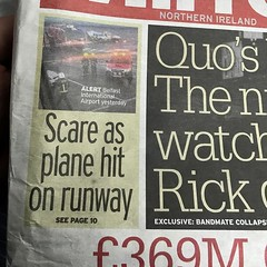 Someone at the daily mirror needs to check what the definition of a runway is