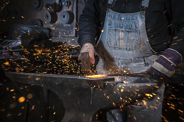 Photo:Reuven Anati, the Blacksmith By:Flavio~