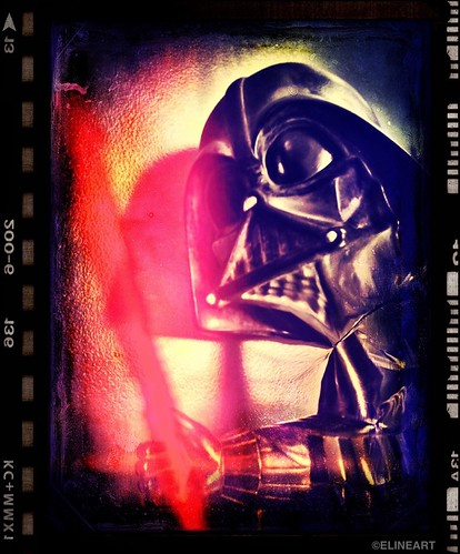 306/365- The Darkside Made Me Do It! by elineart