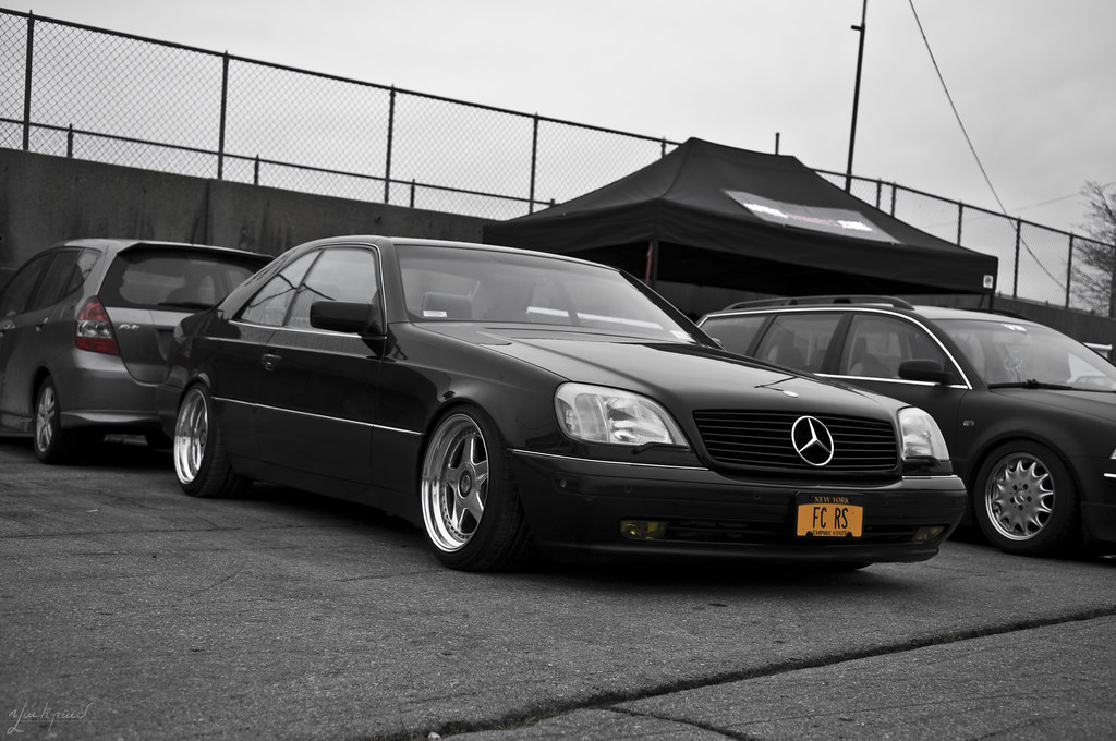 447786 F S Feeler 1999 Cl500 on mercedes benz wagon slammed