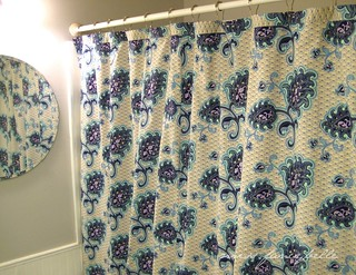 Arabesque Shower Curtain top