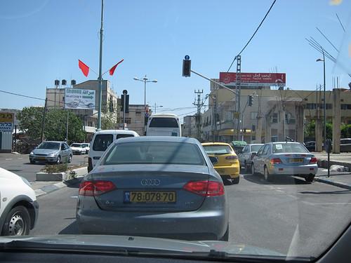 Nazareth traffic