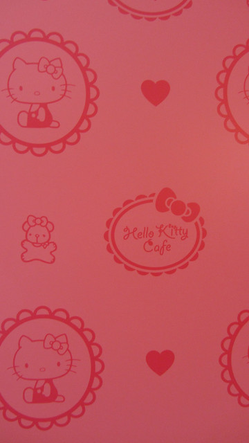 Wallpaper Hello Kitty Cafe Seoul