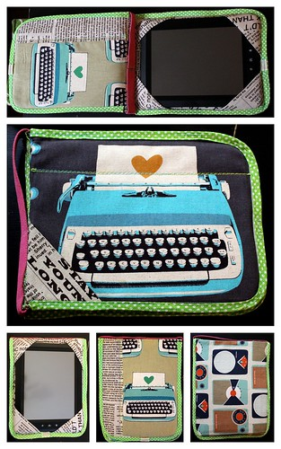 Rise & Shine Android Tablet Cover by Sarah @ pingsandneedles