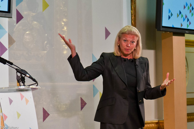 Ginni Rometty, CEO, IBM