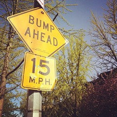 Bump ahead