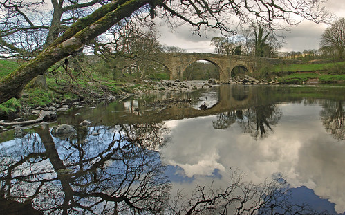 Devils Bridge Kirby Lonsdale by Andy Pritchard - Barrowford