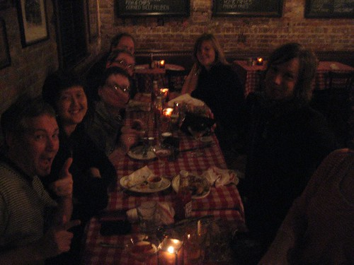 The gang at P.J. Clarke's 3am