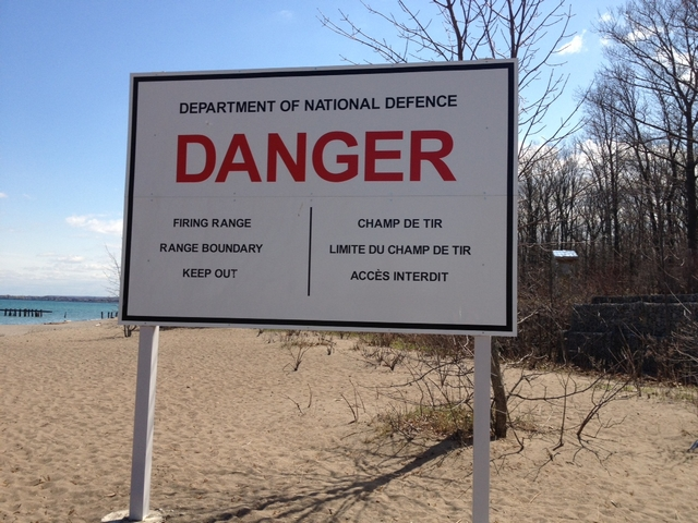 Lake Ontario...oops, better get outta here!