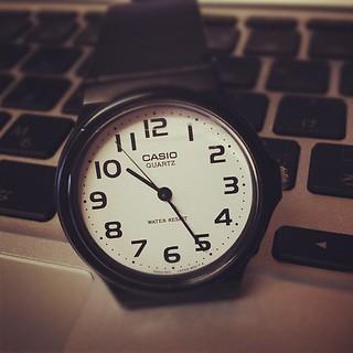 腕時計、必要な時もある。