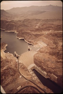 Hoover Dam on the Colorado River, May 1972