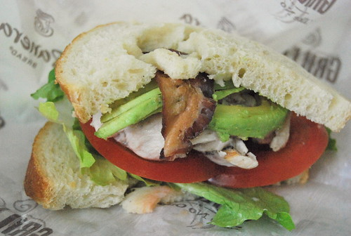 Roasted Turkey Avocado Club Sandwich-001