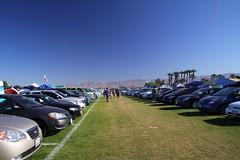 Coachella Camping area