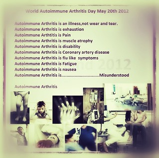 135 World Autoimmune Arthrits Day