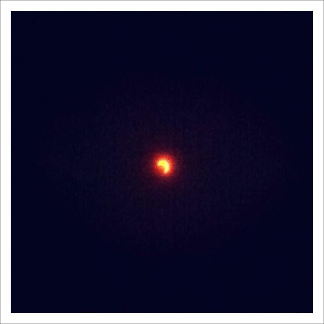 金環日食の日