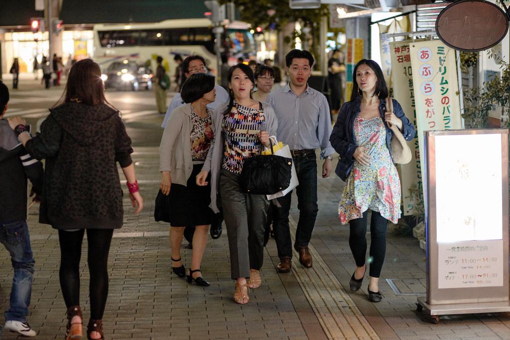 Sannomiyacho 3 Chome, Kobe-shi, Chuo-ku, Hyogo Prefecture, Japan, 0.013 sec (1/80), f/2.8, 85 mm, EF85mm f/1.8 USM