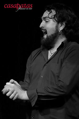 El cantaor Gabriel de la Tomasa. Foto: Martín Guerrero