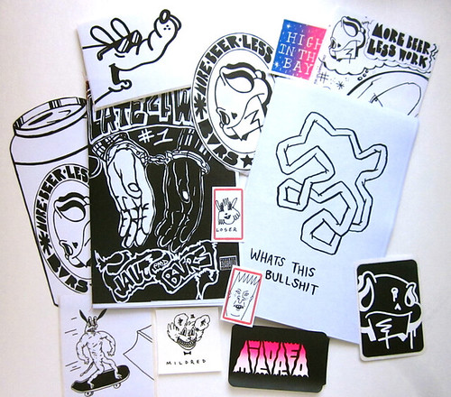 BVRS/Mildred zine pack