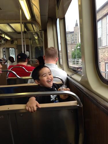 fun times on the train