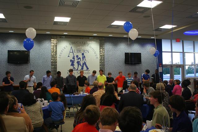 Soccer Banquet 2013