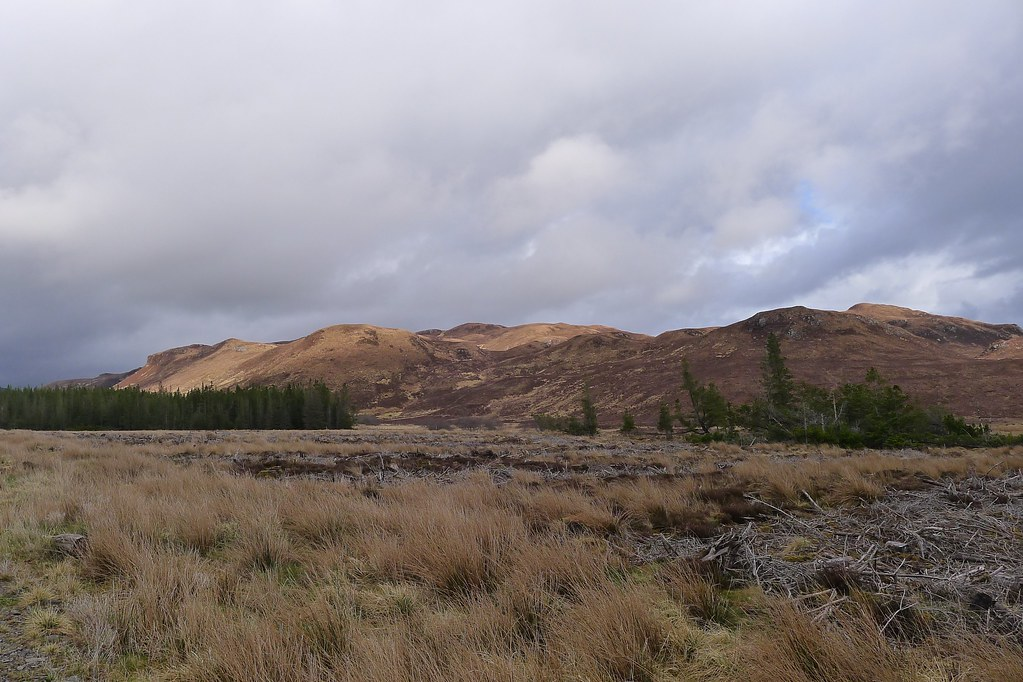 The hills south of Glen Udalain