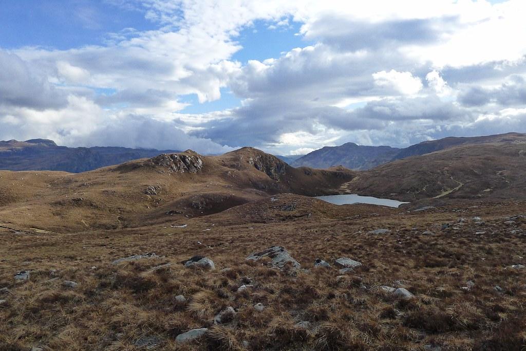 Creag Dharach and Loch na h-Onaich