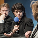 Doris Leuthard speaks about connectivity