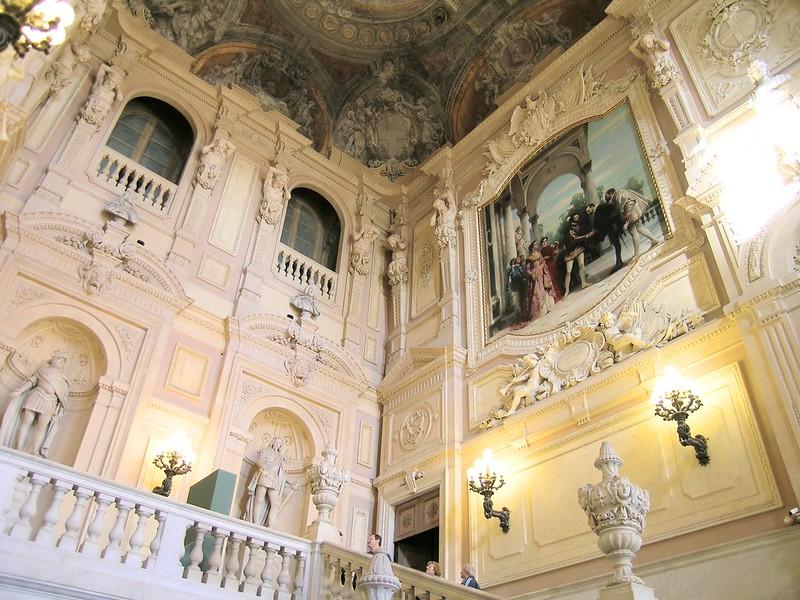 Scalone a Palazzo Madama