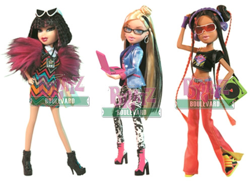 Bratz My Passion promos on Bratz Boulevard!