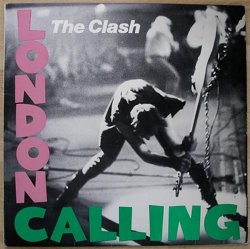 Clash London Calling Lp Cover