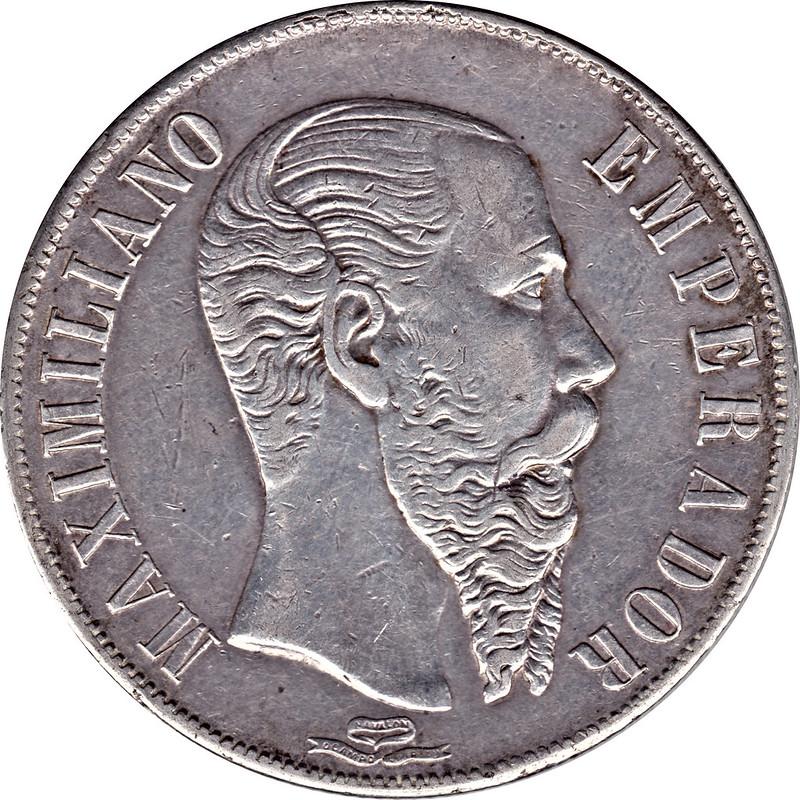 1 Peso. México. 1866 9034134980_806483813d_c