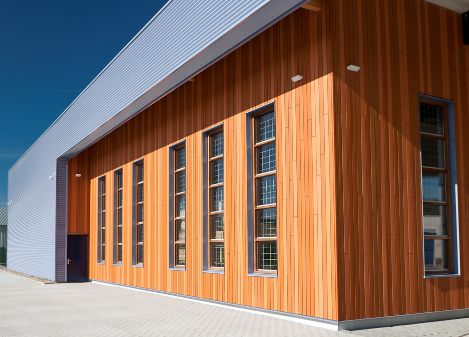 Wood Elevation Uk : Exterior cladding and outdoor construction slp thermowood