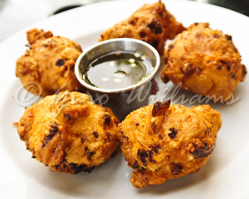 Crawfish and Corn Fritters