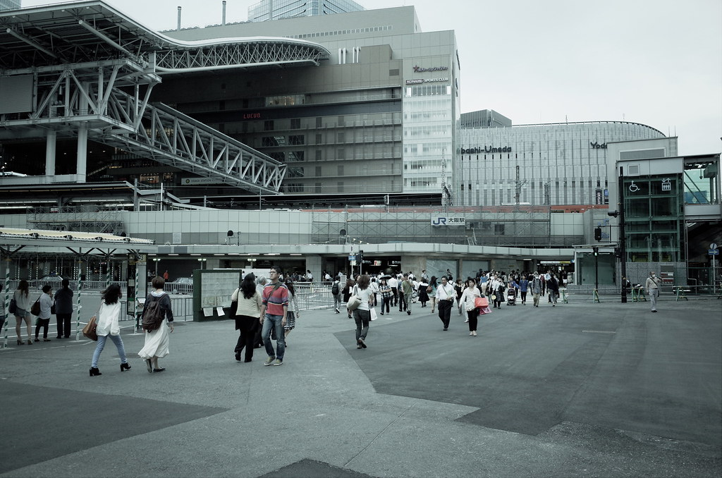 Today's snapshots at Umeda, Osaka by GR (3)