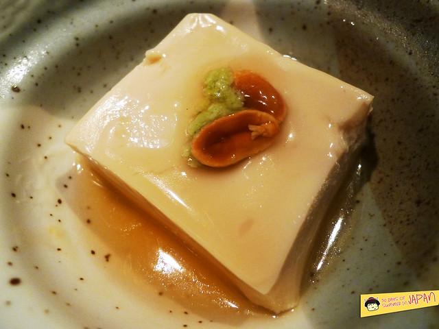 TOFURO - Edo Washoku - peanut tofu