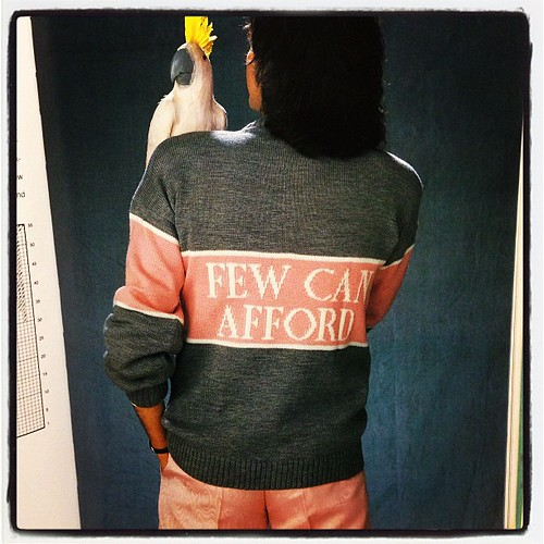The back!! Priceless!!! That's it for vintage knit photos gang!